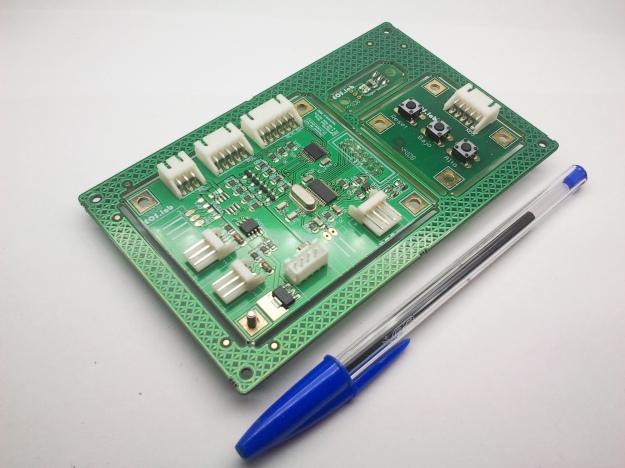 Panel compuesto con kit de control de TFT, con testigometrico.