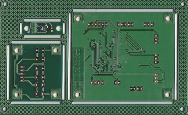 Cara de soldadura del panel compuesto del kit de control de TFT.